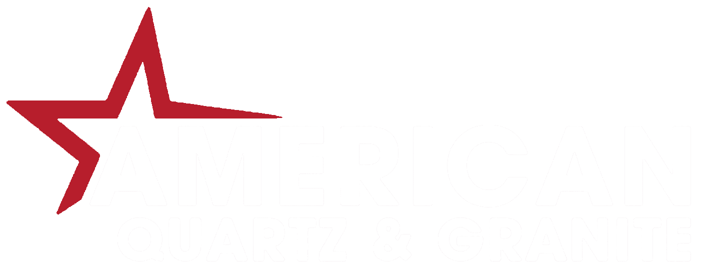 american logo footer white text
